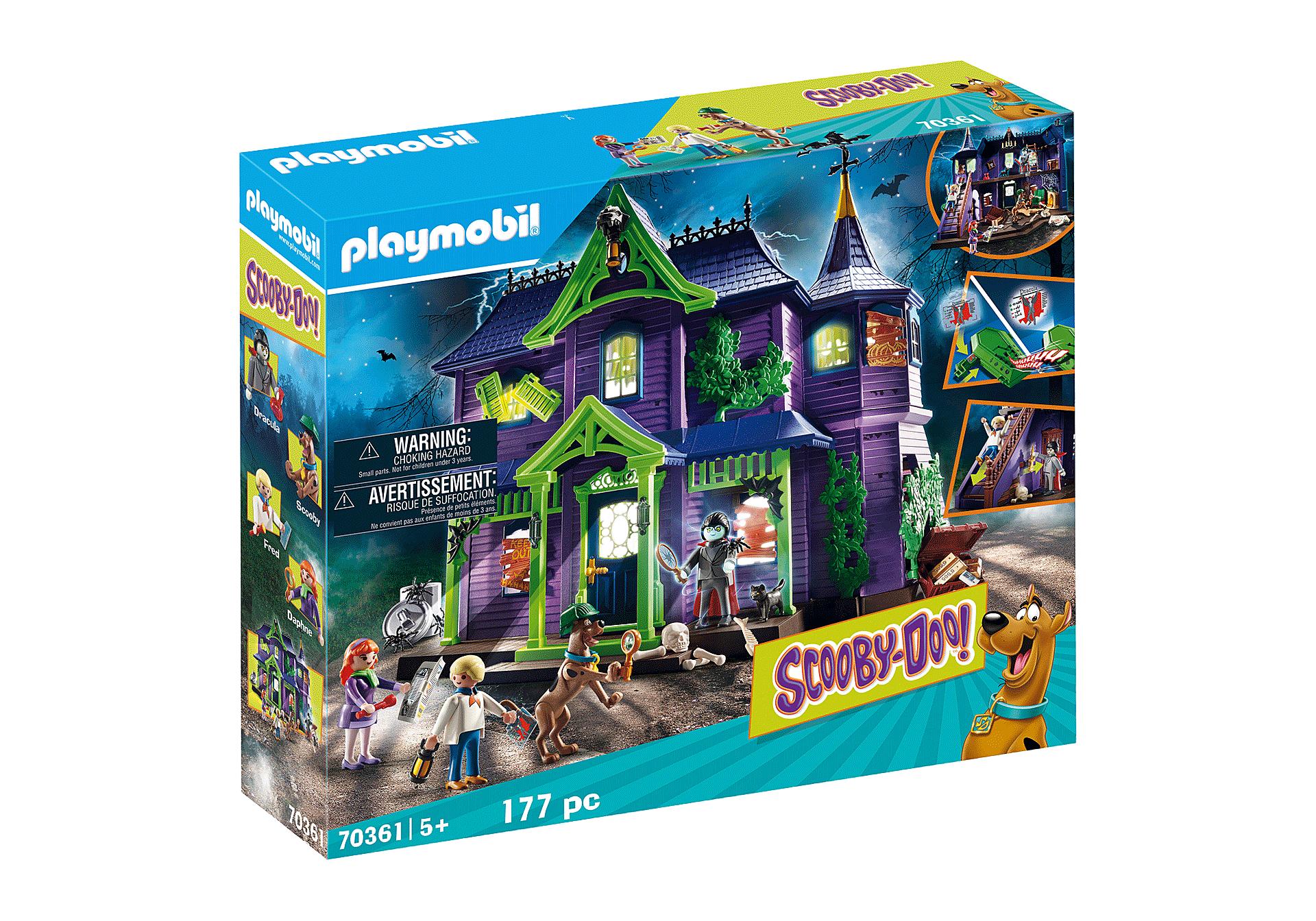 Jouet Playmobil - Scooby-Doo! Histoires dans Le Manoir Hanté