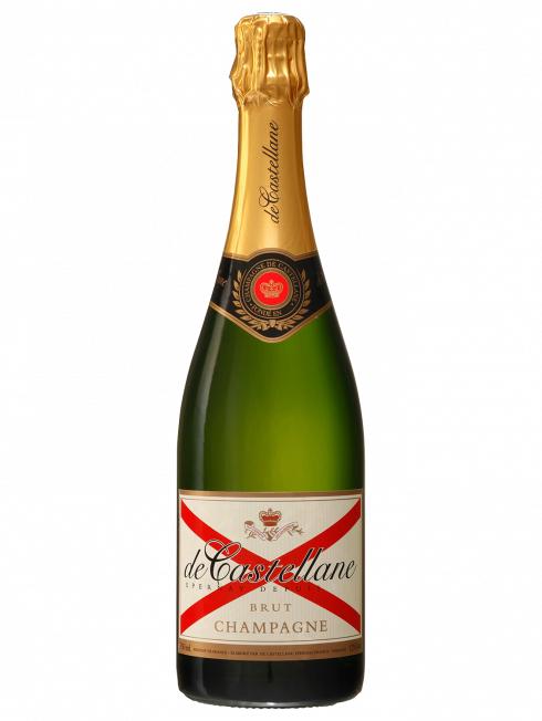 Lot de 2 bouteilles de Champagne Brut de Castellane (2x 75cl)