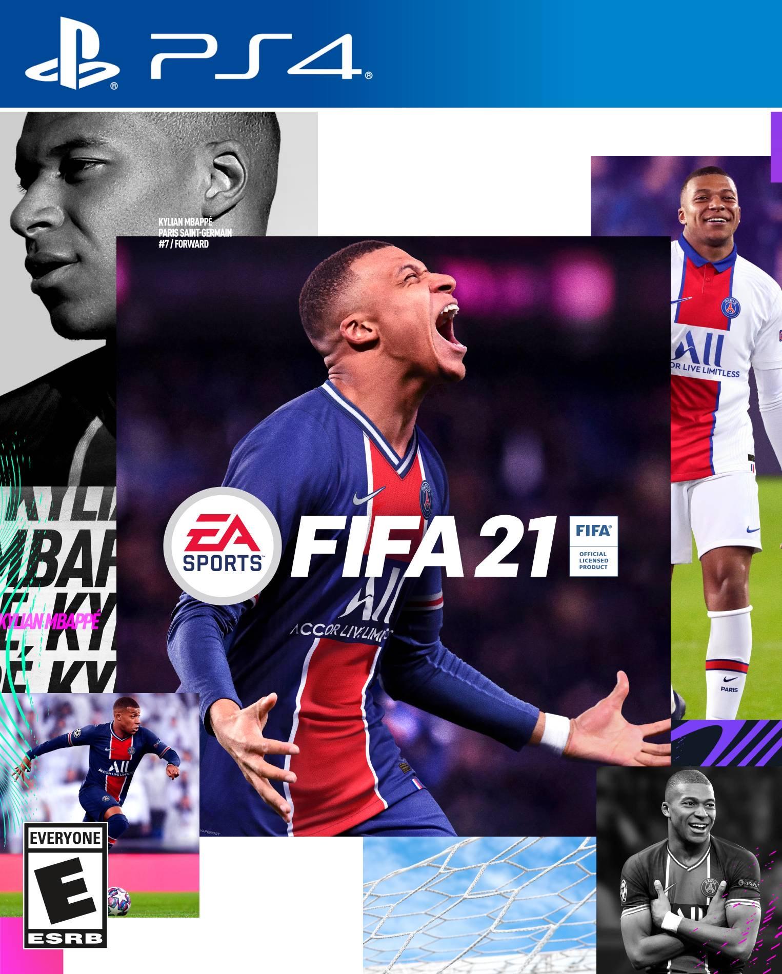 FIFA 21 sur PS4 (Frais de port inclus)