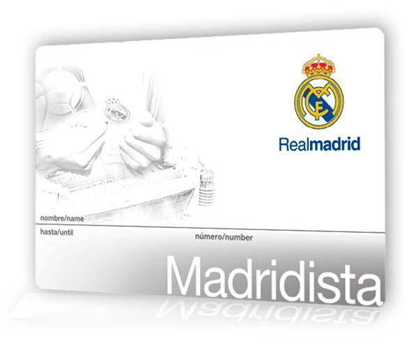 Carte Madridista : un an d'adhésion au club Real Madrid (realmadrid.com)