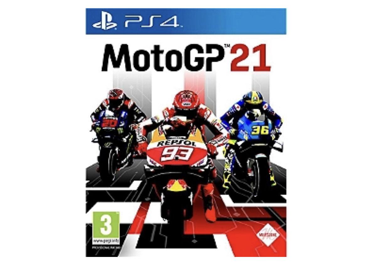 Moto GP 21 sur PS4