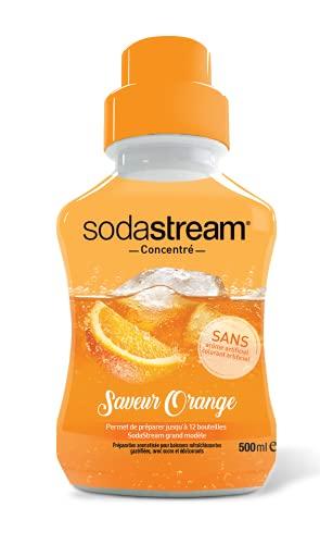 Concentré Saveur Orange SodaStream - 500ml