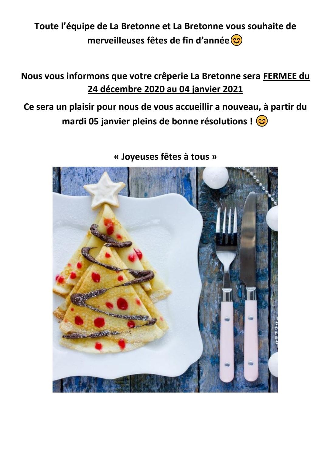 [Étudiants] Plat, dessert et boisson offert sur présentation de la carte étudiante - La Bretonne Vern sur Seiche / Rennes (35)