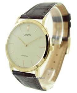 Montre Homme Citizen Eco-Drive Stilleto