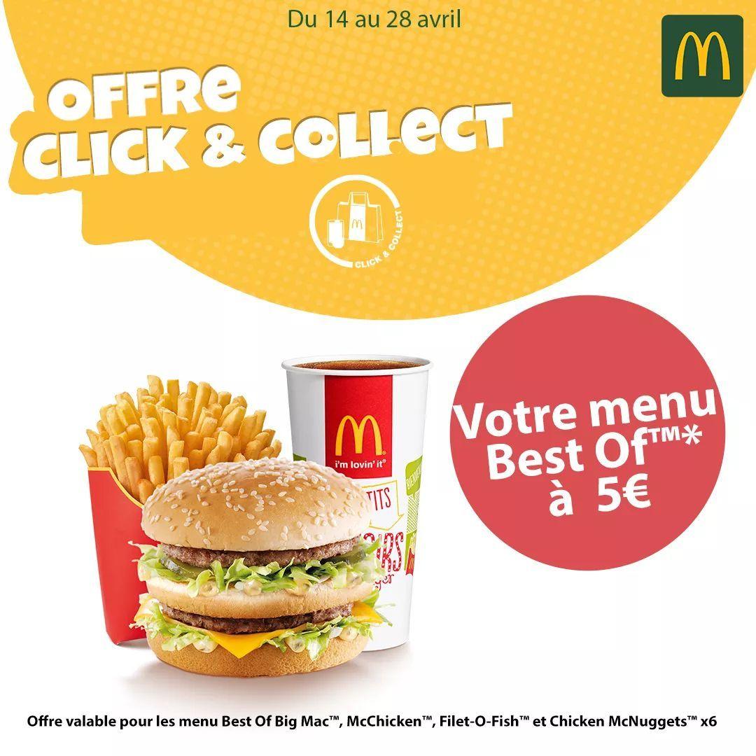 Menu Best Of Big Mac, Nuggets, Chicken ou Fish - Nice (06)
