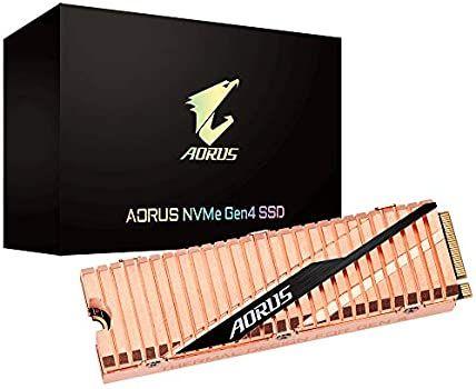 SSD Interne GIGABYTE AORUS NVMe PCIe 4.0 - 2To