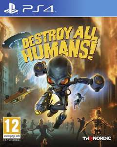 Destroy All Humans ! sur PS4