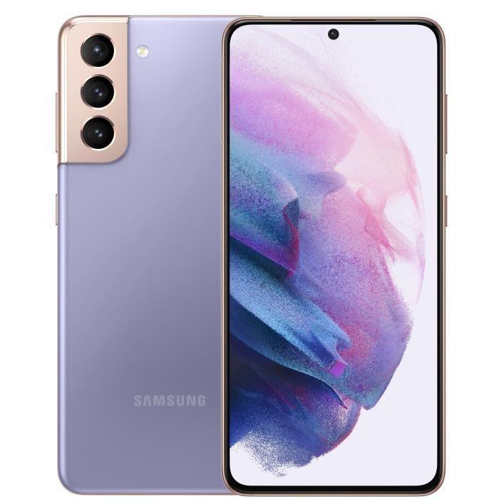 "Smartphone 6.2"" Samsung Galaxy S21 - 5G, 128 Go (576.34€ avec le code RAKUTEN30 + 17.29€ en Rakuten Points)"