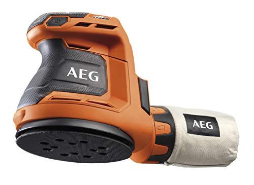 Ponceuse excentrique AEG - 18 V, sans batterie ni chargeur Ø 125 mm - BEX18-125 - 0