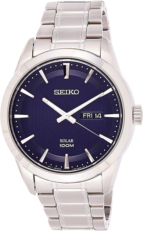 Montre Solaire Seiko SNE361P1 - 43mm