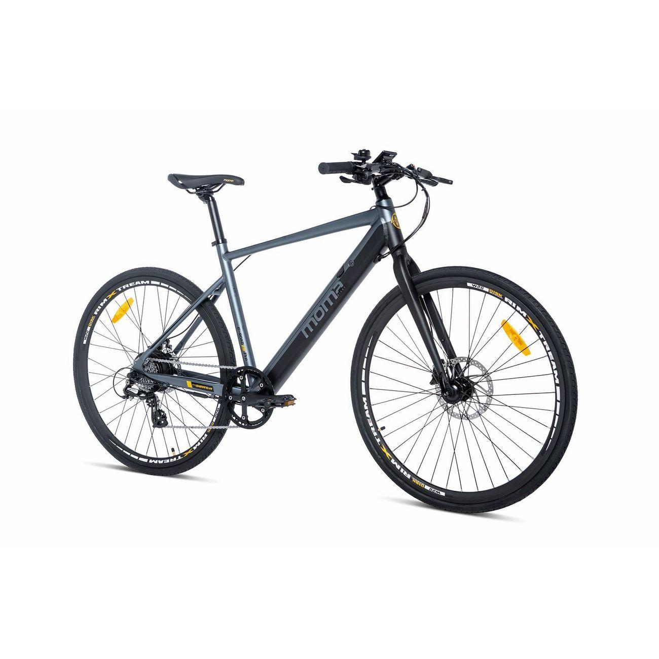"""Vélo de ville électrique 28"""" Momabikes E-ROAD PRO - Dérailleur & manette Shimano, Freins à disques Hydrauliques (Vendeur tiers)"""