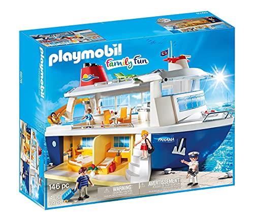 Jouet Playmobil Family Fun (6978) - Bateau de Croisière