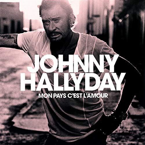Vinyle 33T Johnny Hallyday - Mon Pays C'est l'Amour (frais de port inclus)
