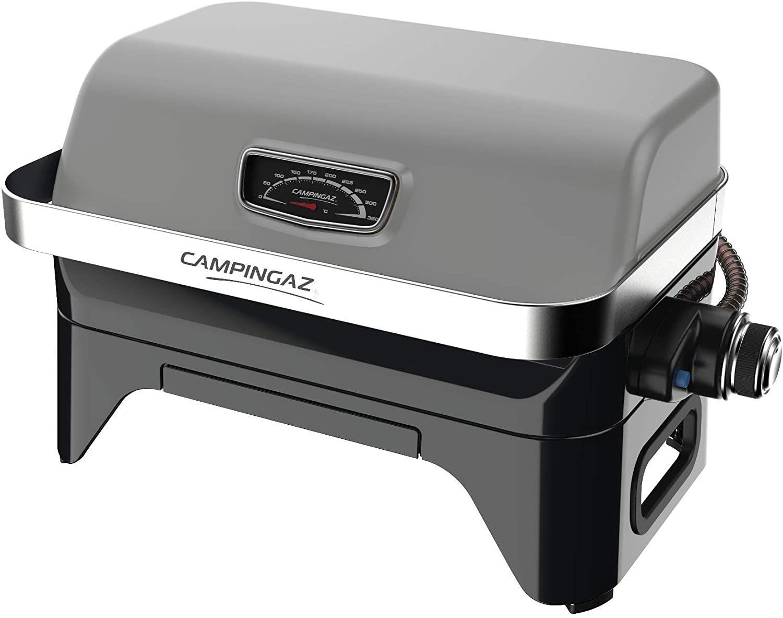 Barbecue à gaz à poser Campingaz Attitude2go - Cartouche de gaz CV 470 Plus, Gris