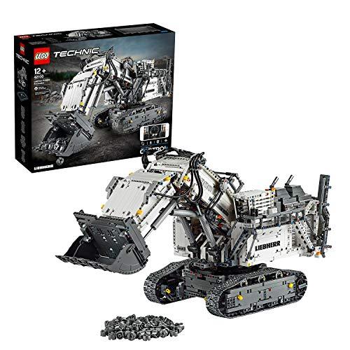 Jouet Lego Technic La pelleteuse Liebherr R 9800 - 42100