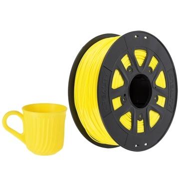 Filament PLA Creality pour Imprimante 3D - 1.75 mm, 1 kg, Jaune (Entrepôt Allemagne)