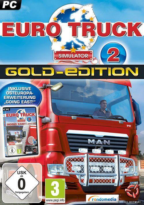Euro Truck Simulator 2: GOLD Edition sur Windows/Mac/Linux  (Dématérialisé - Steam)