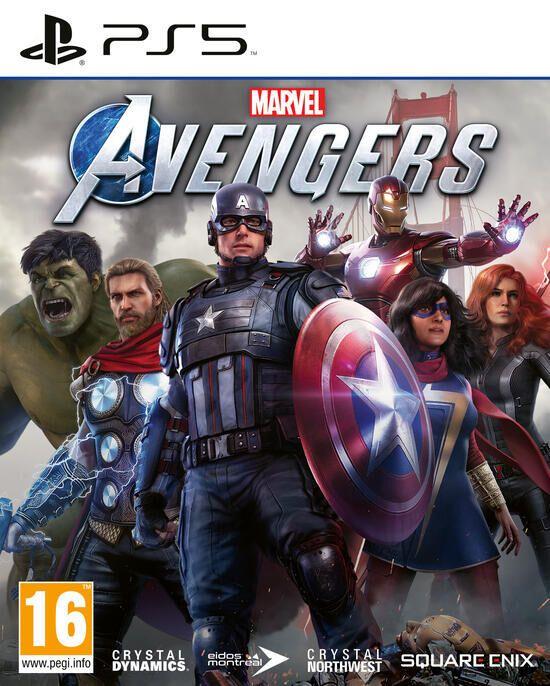 Jeu Marvel's Avengers sur PS5