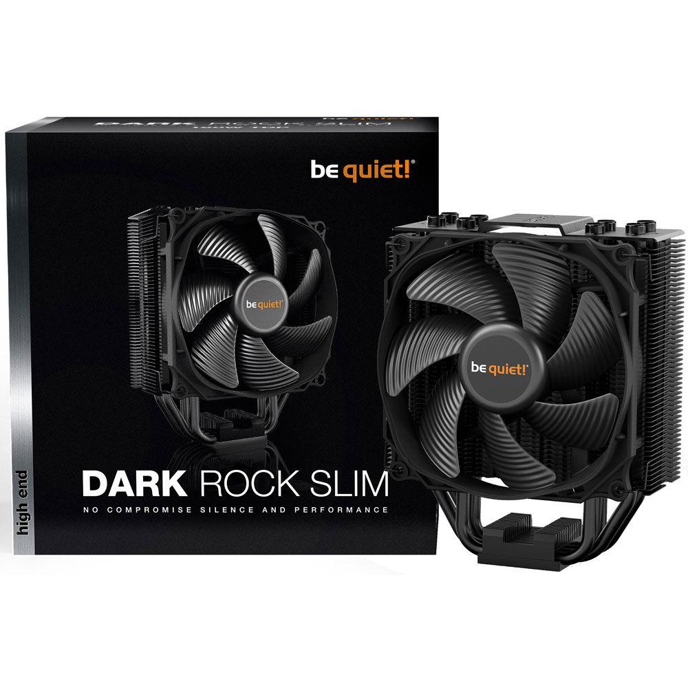 Ventirad processeur Be Quiet! Dark Rock Slim BK024 - Socket AMD, Intel, PWM, Ventilateur 120 mm