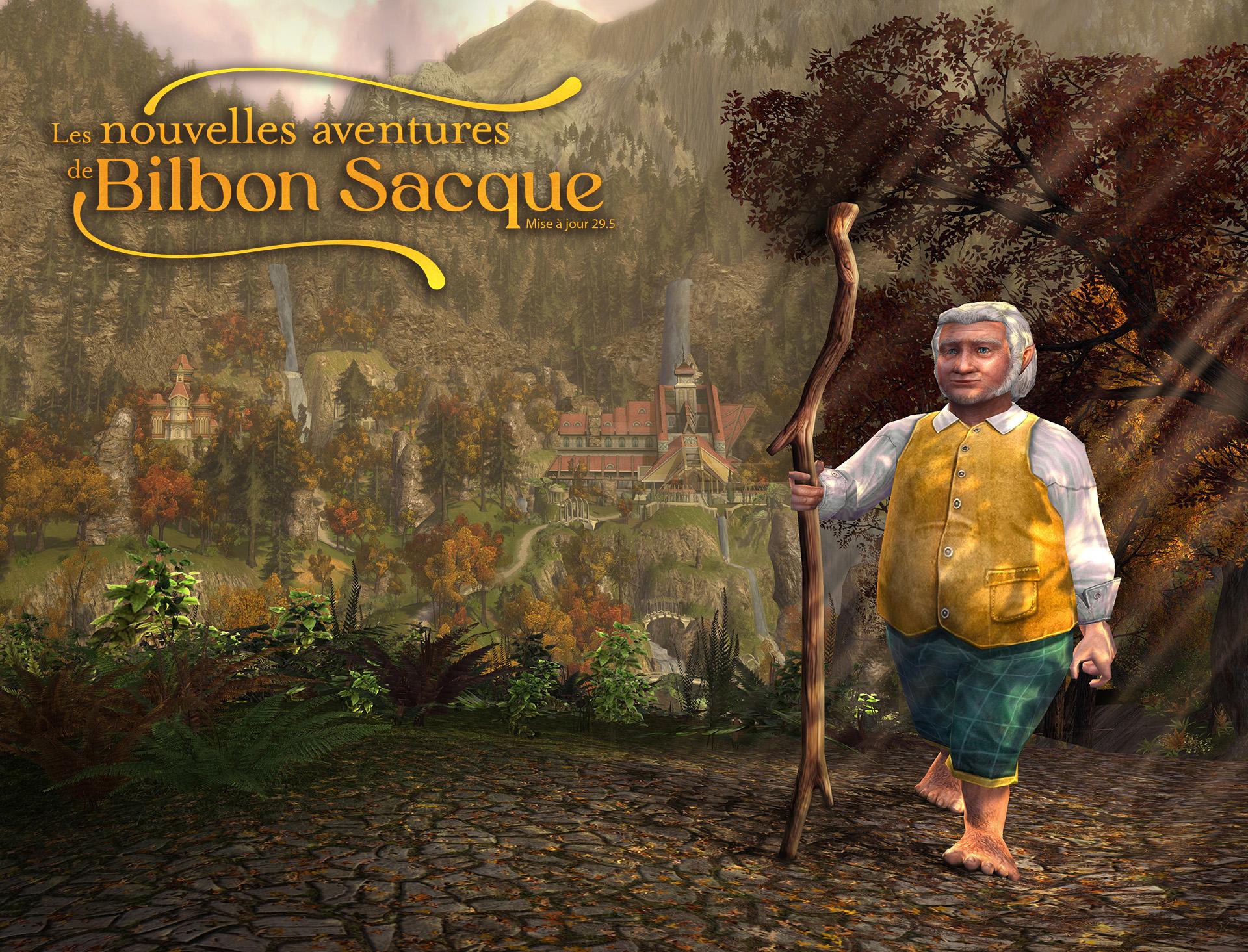 DLC The Lord of the Rings Online : Les Nouvelles Aventures de Bilbon gratuit sur PC & Mac (Dématérialisé)