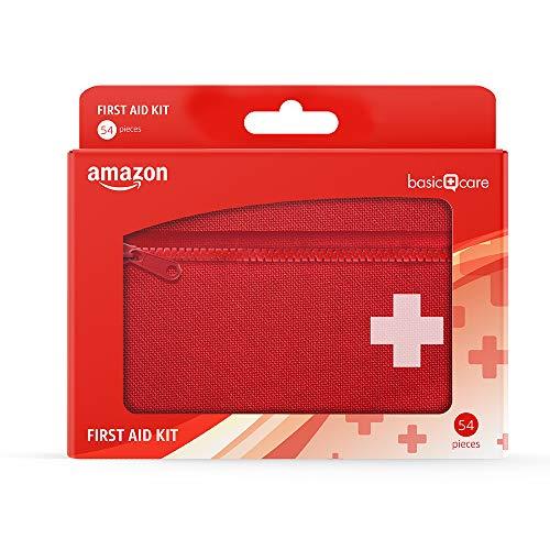 Kit de premiers secours Amazon Basic Care - 54 pièces
