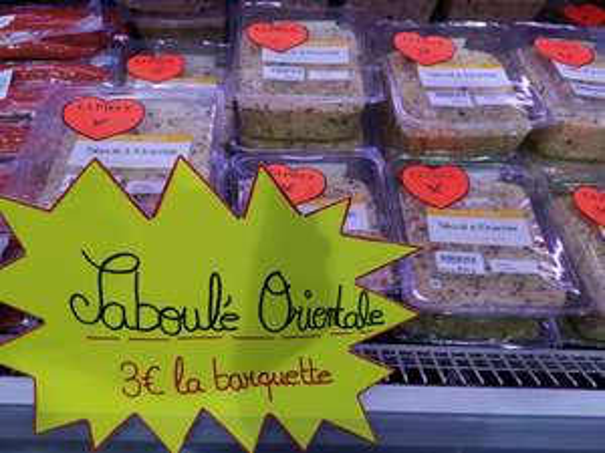 Taboulé oriental (800g) - Argenteuil (95)