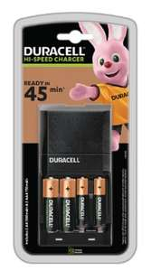 Chargeur rapide 2 pile AA et 2 pile AAA (duracelldirect.fr)