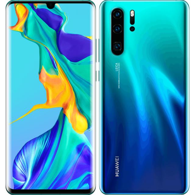 """Smartphone 6.47"""" Huawei P30 Pro - 8 Go RAM, 128 Go - Bleu (Avec Services Google)"""