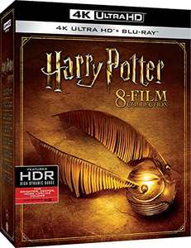 Coffret Film Blu-Ray 4K Harry Potter - 8 Films Collection (4K Ultra HD + Blu-Ray) VF INCLUSE