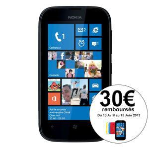 Smartphone Nokia Lumia 510 avec ODR (30€)