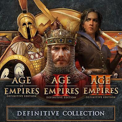 Pack Age of Empires I + II + III Definitive Edition sur PC (Dématérialisé - Steam)
