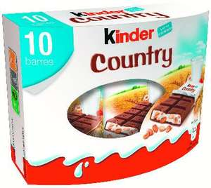 2 Boite de 10 barres chocolatées Kinder Country - 2x10