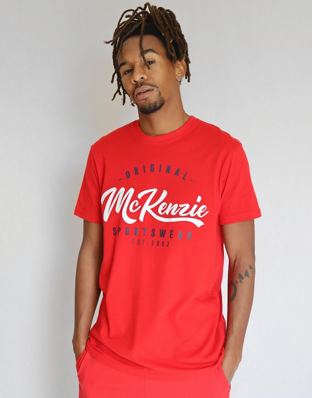 Sélection de t-shirts homme Mc Kenzie à 4€ - Ex : T-shirt McKenzie Tyce Palm (Taille XL)