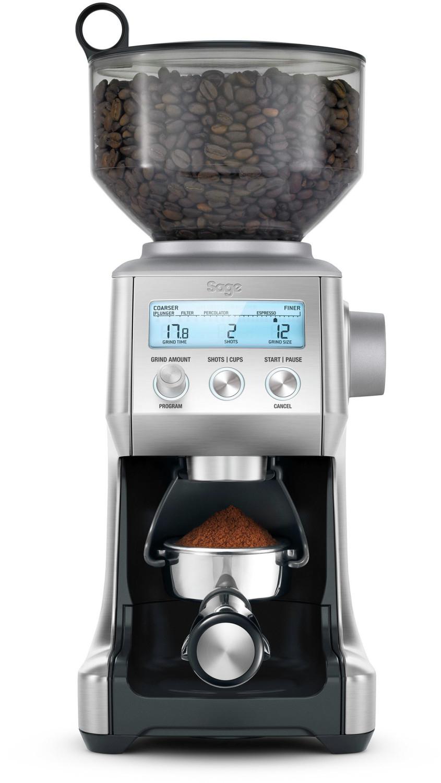 Moulin à café électrique Sage The Smart Grinder Pro SCG820BSS4EEU1 - 165 W, gris