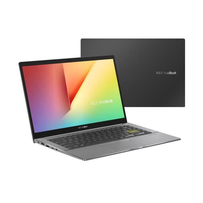 "PC Portable 14"" Asus Vivobook S433EA-EB160T - FullHD, i7-1165G7, 8 Go de RAM, 512 Go SSD + Optane 32Go, Win 10"