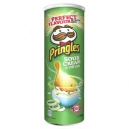 Lot de 3 Boites de Chips tuiles Pringles - Diverses variétés