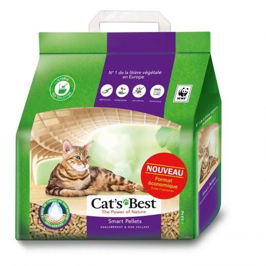 Sac de litière végétale agglomérante Cat's Best Smart Pellets (3.5 kg) - Athis-Mons (91)