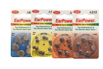 Plaquette de 6 piles gratuite 312 (pr41) 13,10;675 (earpower.fr)