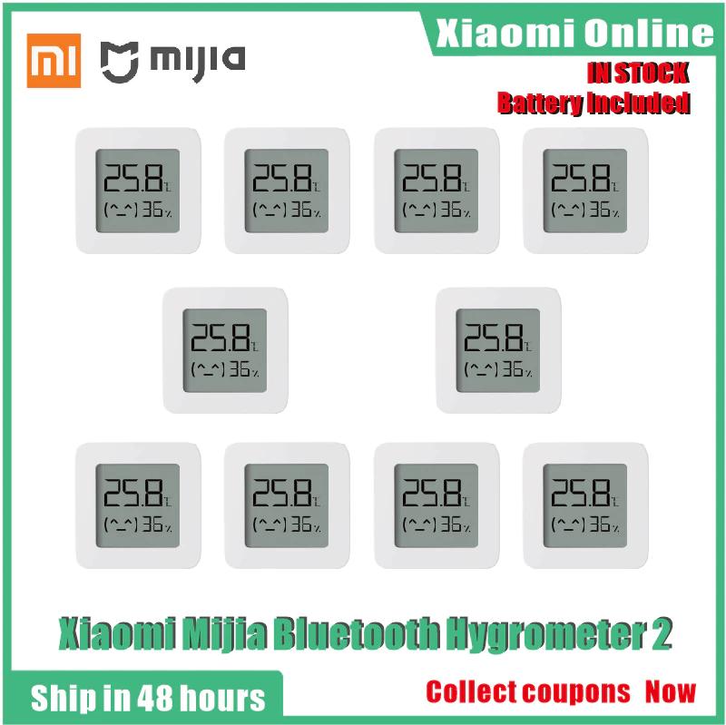 Lot de 10 capteurs de température Xiaomi MiJia (2020) - Bluetooth