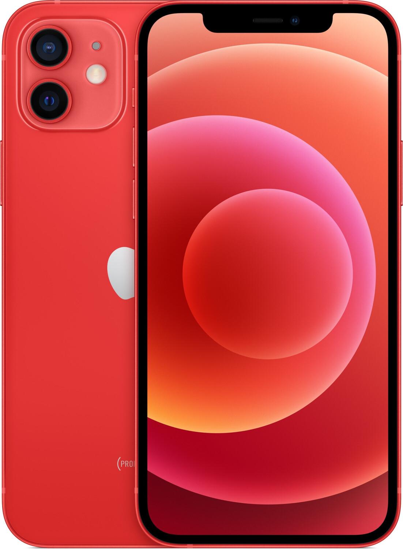"Smartphone 6.1"" Apple iPhone 12 - full HD+ Retina, A13, 4 Go de RAM, 64 Go, rouge"
