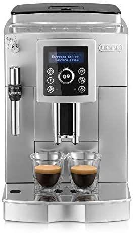 Cafetière automatique à Cappuccino avec buse vapeur Cappuccino DeLonghi ECAM 23420 SB
