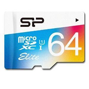 Silicon Power Elite MicroSDXC 64Go avec adaptateur SD