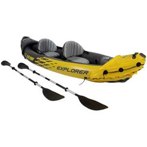Canoë gonflable Intex Explorer - 2 personnes