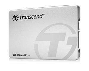 """SSD interne 2.5"""" Transcend 370S (Mémoire MLC) - 1 To avec Adaptateur 3,5''"""