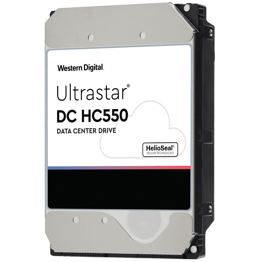 "Disque dur 3.5"" Western Digital Ultrastar DC HC550 - 18To, 7200RPM, 512MB Hélium"