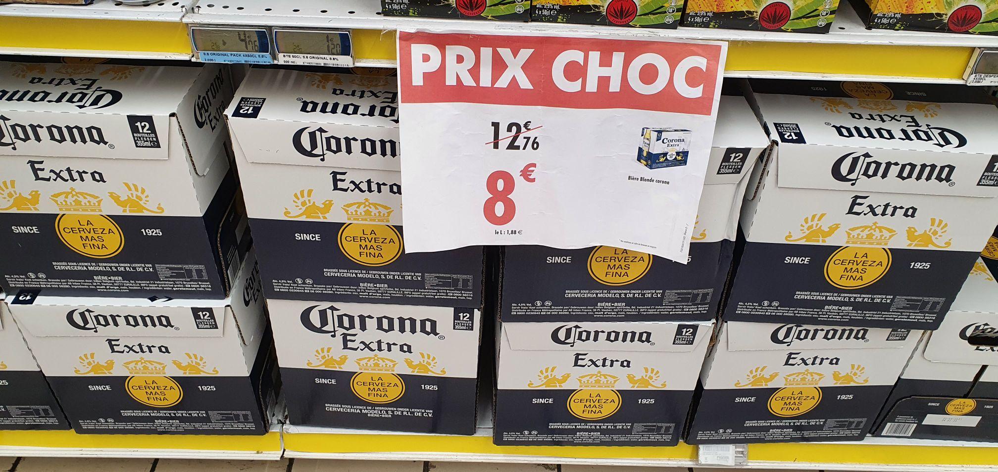 Pack de 12 Bières Corona Extra (12×33 cl) - Cherbourg-en-Cotentin (50)