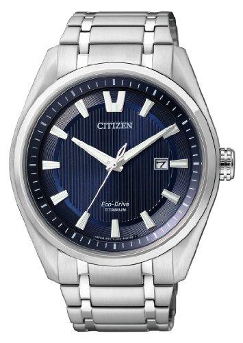 Montre à quartz Eco-Drive Citizen Titan AW1240-57L - Boitier 42mm, verre saphir, 10 ATM