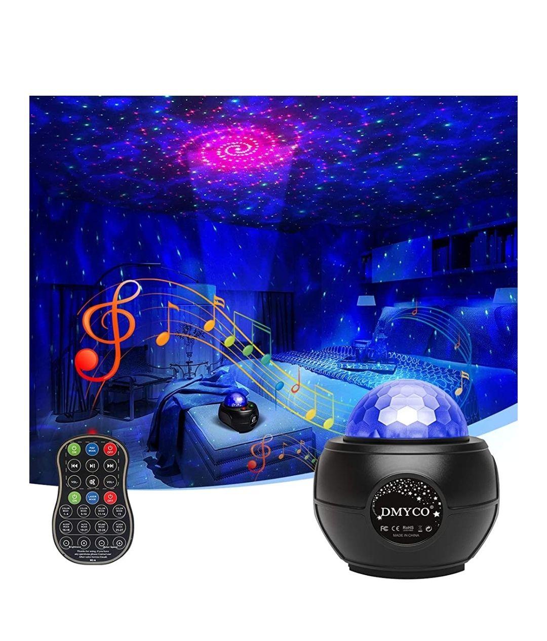 Projecteur Ciel Étoiles Dmyco - Fonction Veilleuse musicale (via coupon - Vendeur tiers)