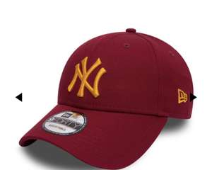 Casquette New Era NY Yankees 9forty - Rouge Cardinal (footkorner.com)