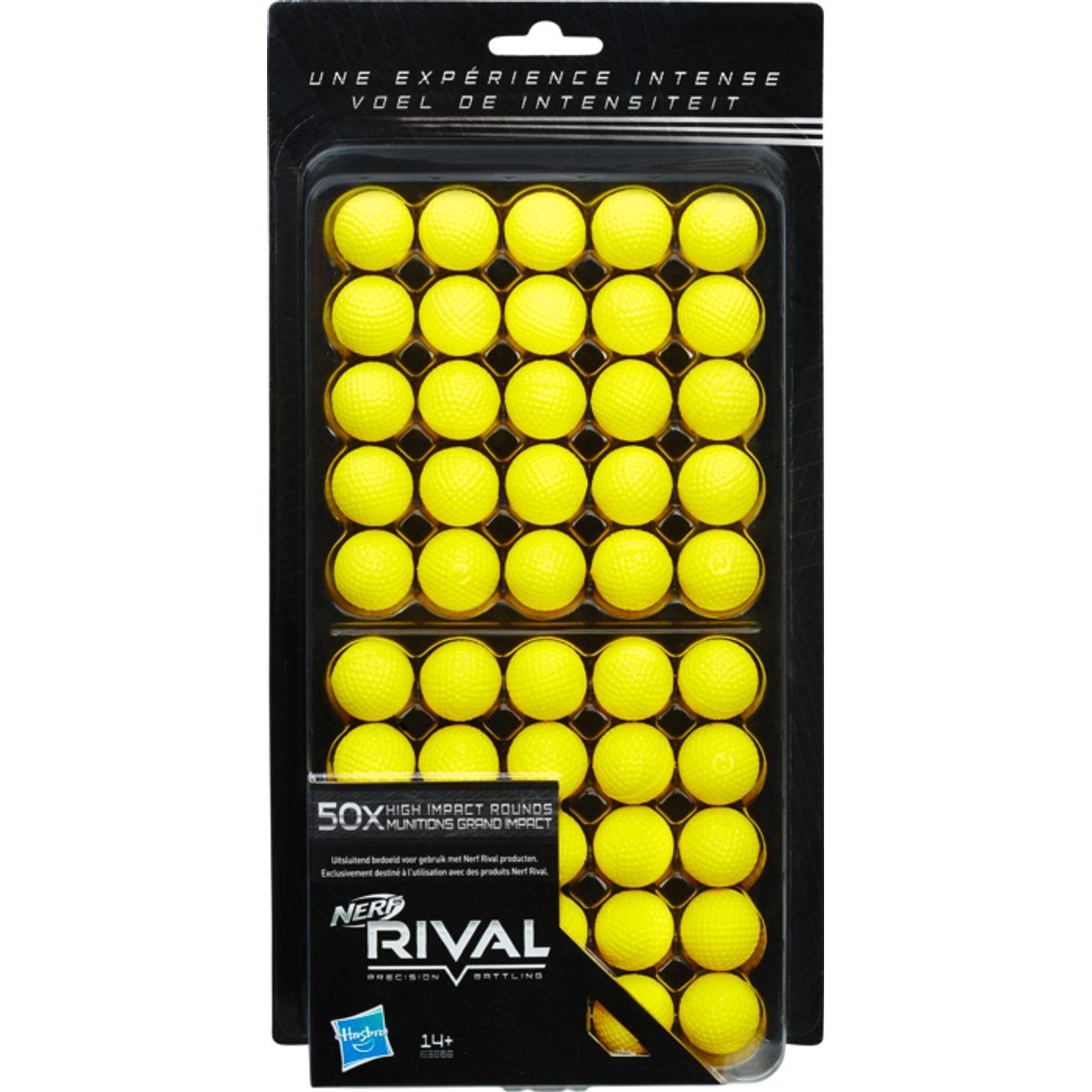 Lot de 50 balles Nerf Rival (Retrait magasin uniquement)